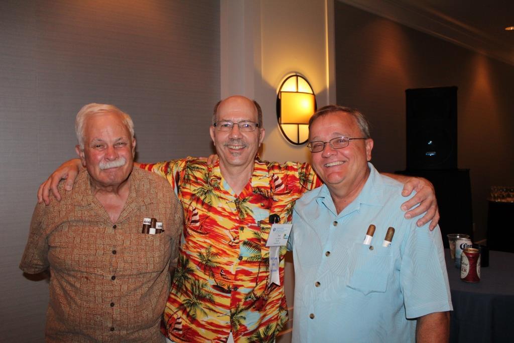 Fri - Beach party - Bill McKnight-Joe Polich-Danny Molde