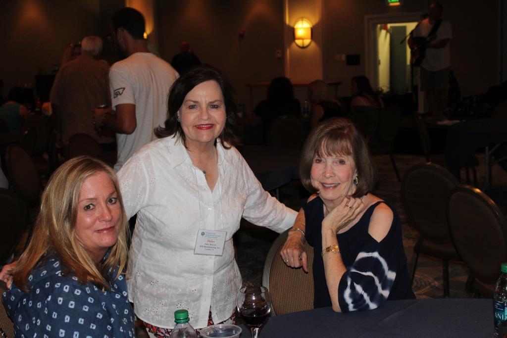 Fri - Beach party - Brenda Skaggs-Helen McGraw-Laura Fink