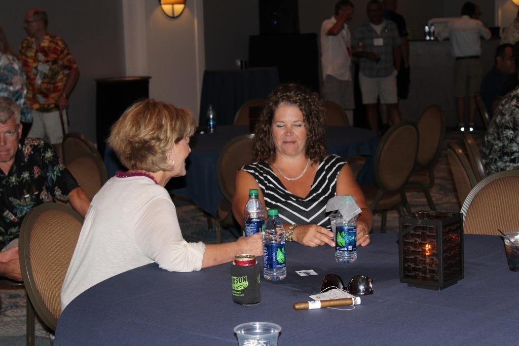 Fri - Beach party - Karen Fox-Debbie Schweitzer