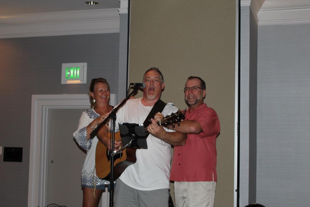 Fri - Beach party - Mr E Doug Kaufman-Peggy and Scott Miller 2