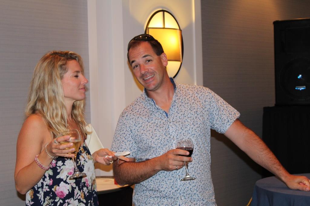 Fri - Beach party - Rachelle and Joel Couture 1
