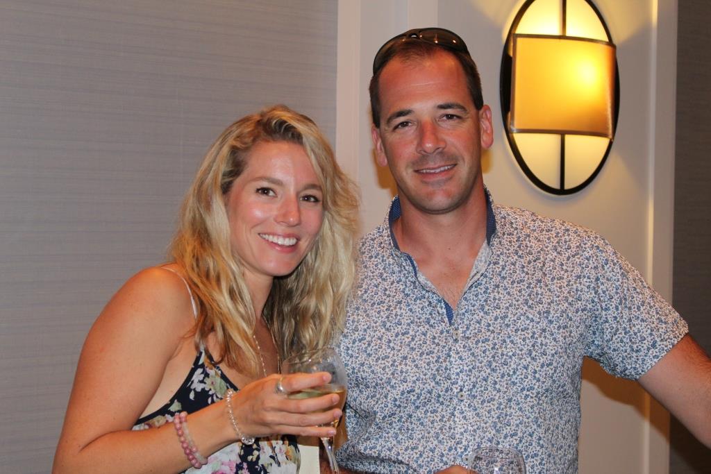 Fri - Beach party - Rachelle and Joel Couture 2