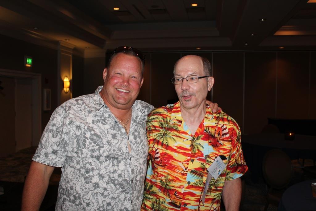 Fri - Beach party - Robert Melton-Joe Polich winning bidder