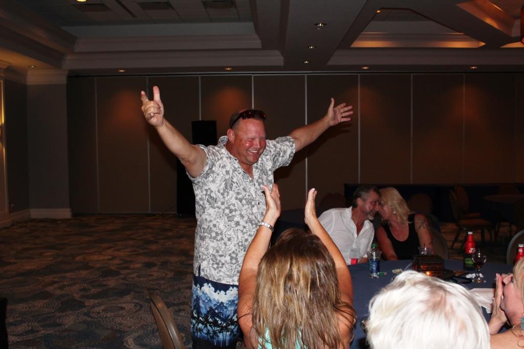 Fri - Beach party - Robert Melton humidor winner