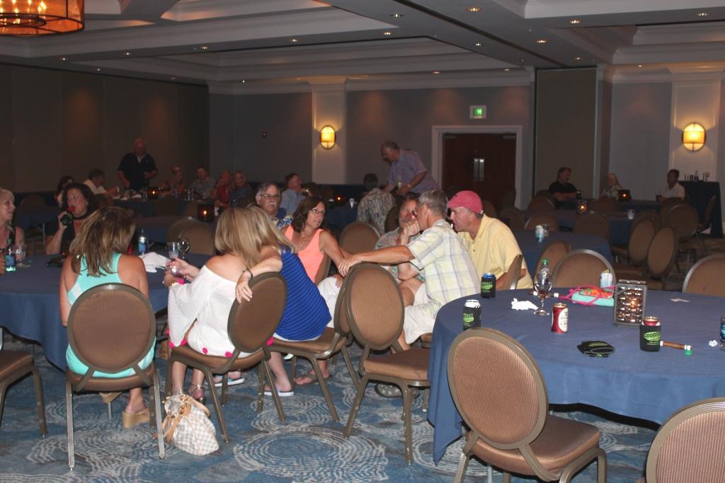 Fri - Beach party - Rowdy table
