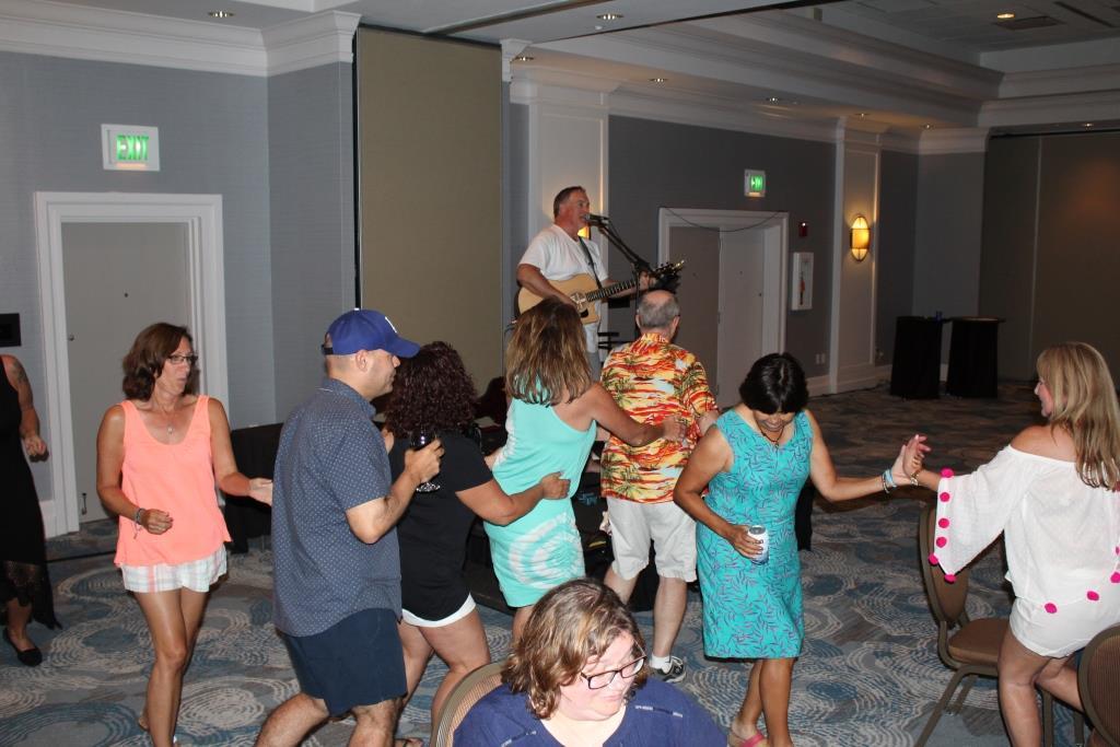 Fri - Beach party - dancing 2