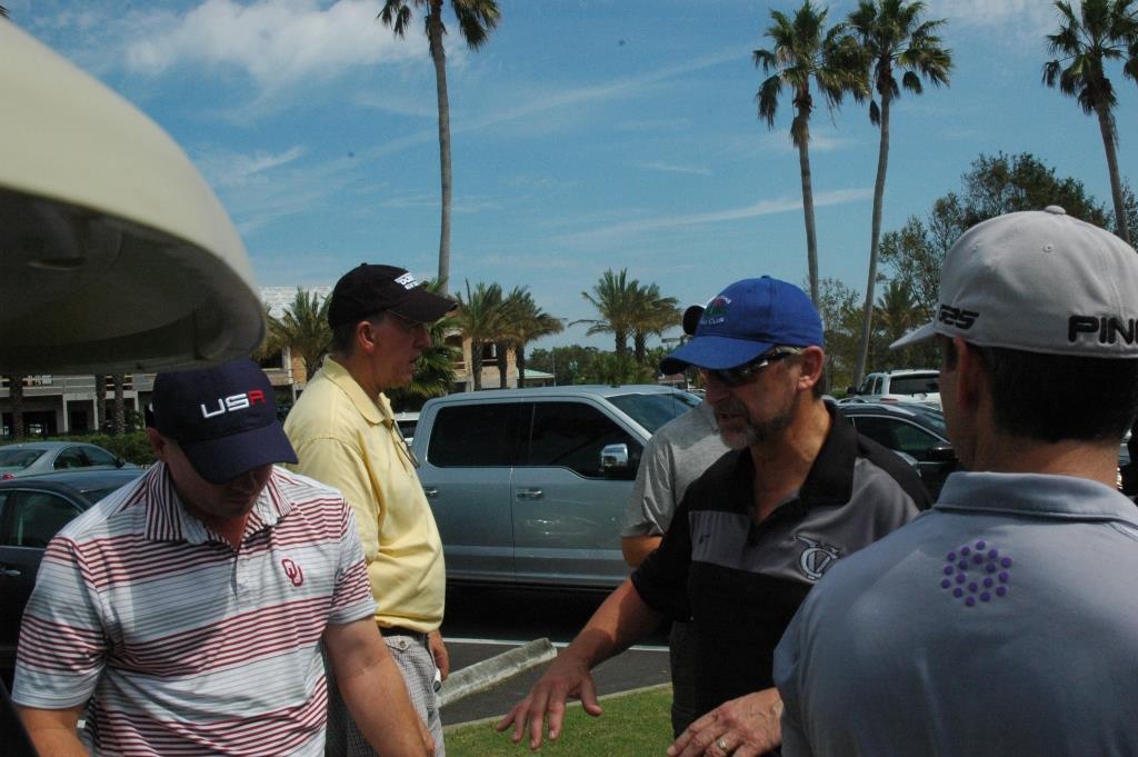 Golf RB - Matt McGraw-Charlie Aiken-Fred Calouette