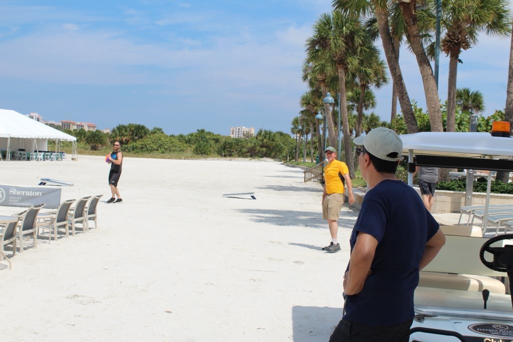Thur - Beach games warmup 1