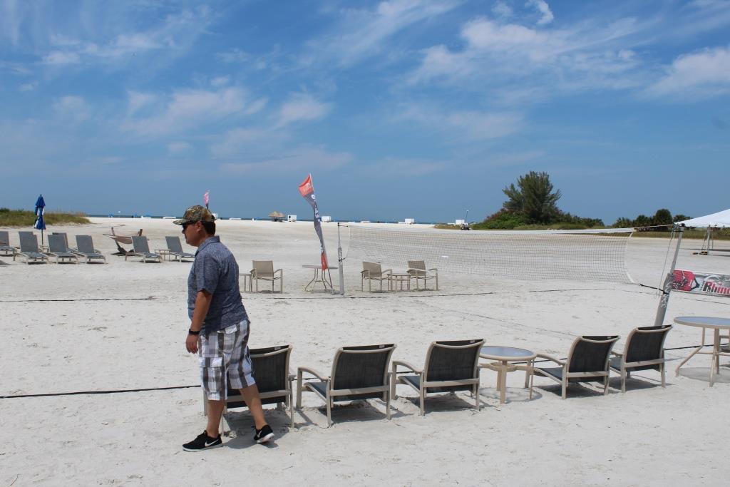 Thur - Beach games warmup 3