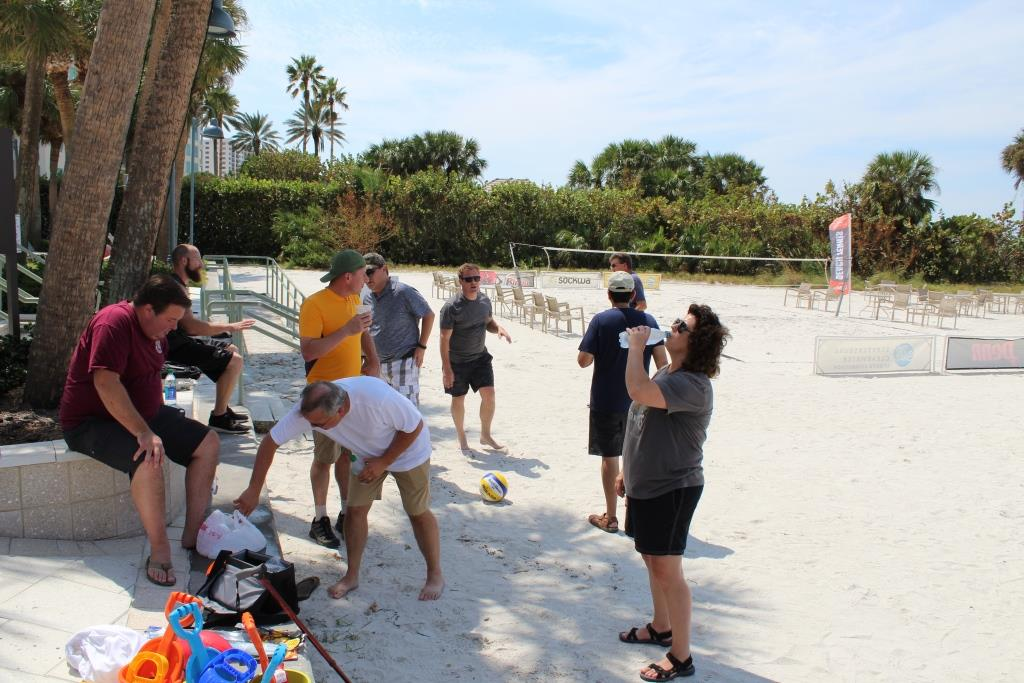 Thur beach games - break