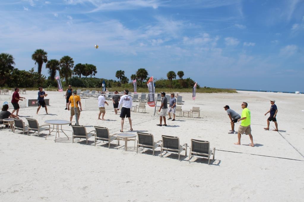 Thur beach games - volleyball 1